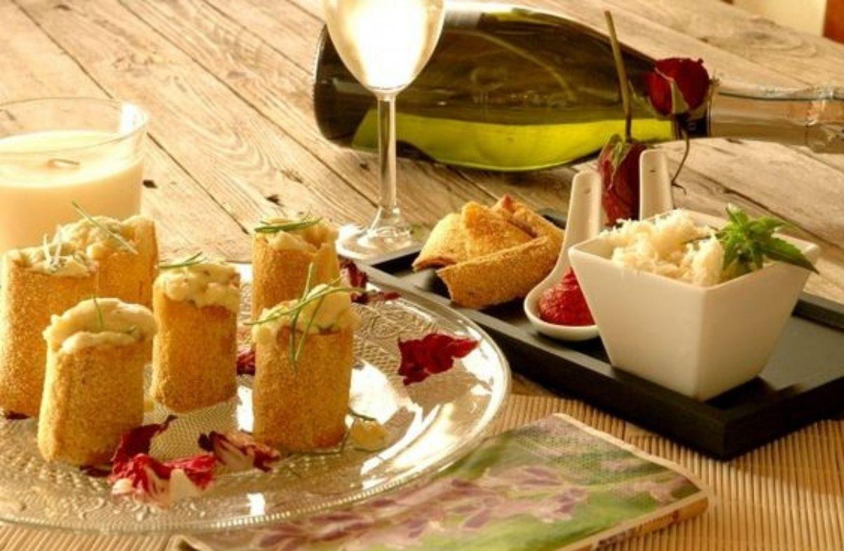 Cannoli al baccalà ricetta