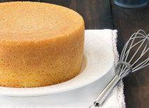 come si fa il pan di spagna alto e soffice