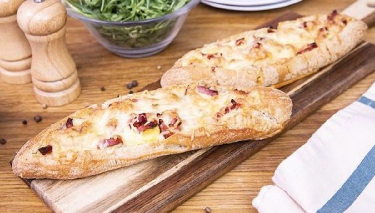 croque baguette ricetta