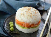 Hamburger di sushi