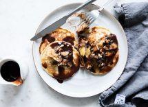 pancake nutella ricetta veloce
