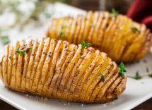 patate hasselback ricetta originale
