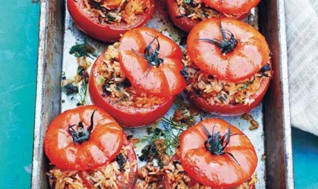 pomodori gratinati al forno light
