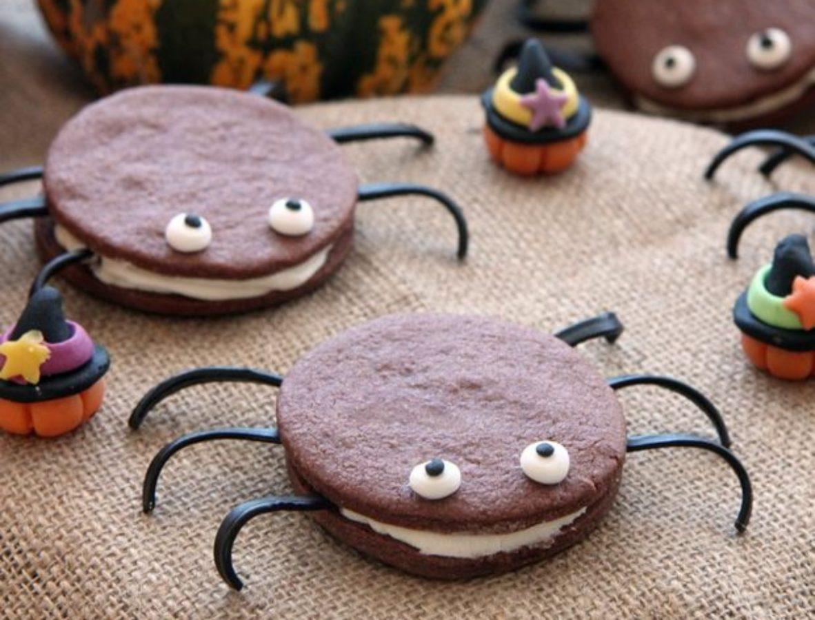 ragni di halloween: ricetta per bimby
