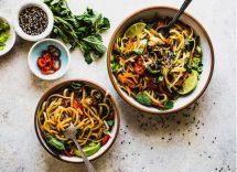 Ricetta noodles thai verdure