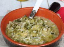 riso con verza e patate alla napoletana