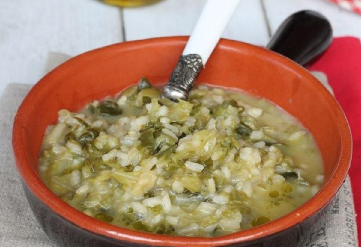 Ricetta Verza E Patate.Riso Con Verza E Patate Alla Napoletana Ricetta Autunnale Food Blog