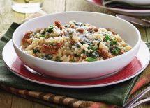 risotto broccoli e salsiccia bimby