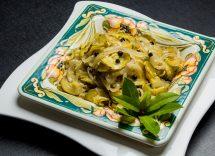 zucchine alla curcuma in padella