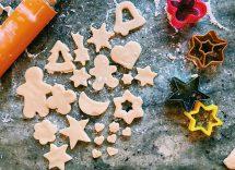 biscotti di natale vegani senza zucchero