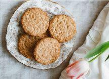 biscotti in padella senza burro e lievito