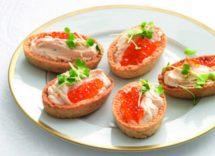 cestini di patate al salmone senza glutine