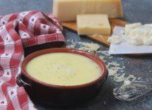 fonduta di formaggio veloce bimby