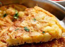 frittata di patate ripiena al forno