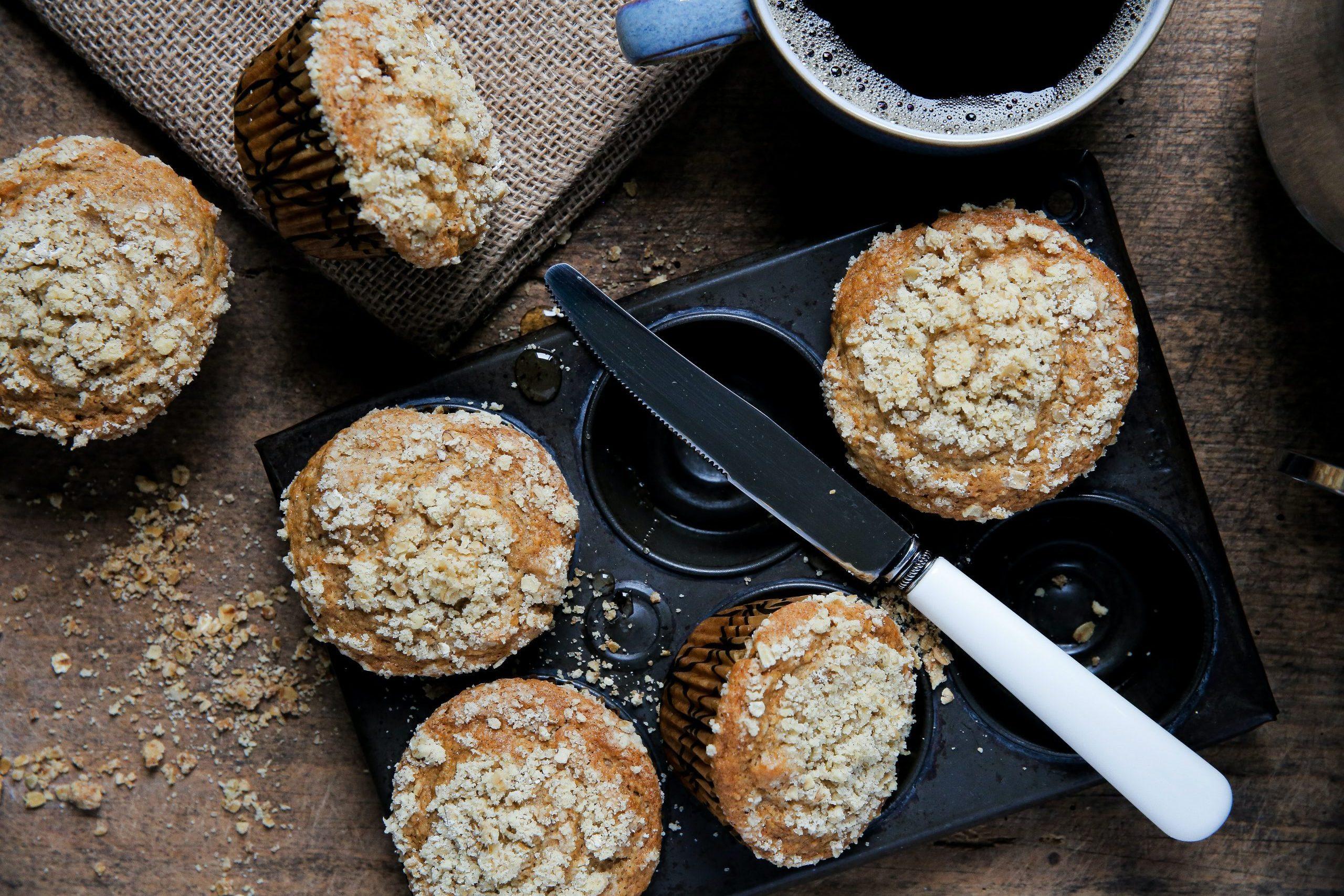 muffin alla cannella vegan