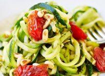 Spaghetti di zucchine ricetta senza glutine