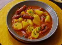 Verzini in umido con patate
