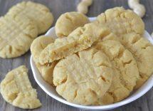 biscotti alle arachidi salate