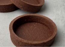 Cestini di frolla al cacao con crema al mascarpone