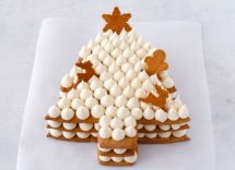 Cream tart natalizia