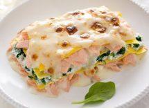 lasagne panna e salmone