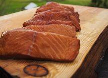 mattonella di salmone affumicato