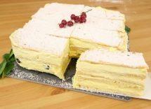 Millefoglie di crackers: dessert senza cottura