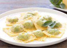 ravioli spinaci e ricotta ricetta