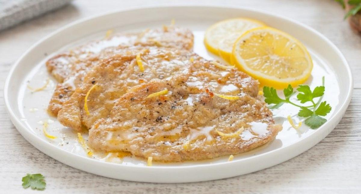 scaloppine al limone ricetta della nonna