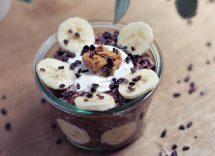 Bicchierini banana e cioccolato: dessert cremosi e fruttati
