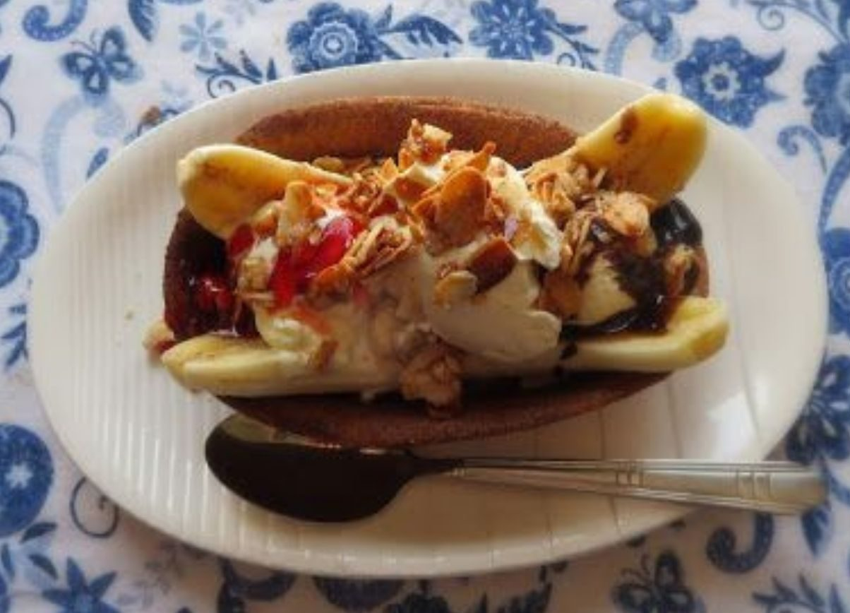 churros banana split ricetta