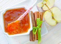 marmellata con bucce di mela
