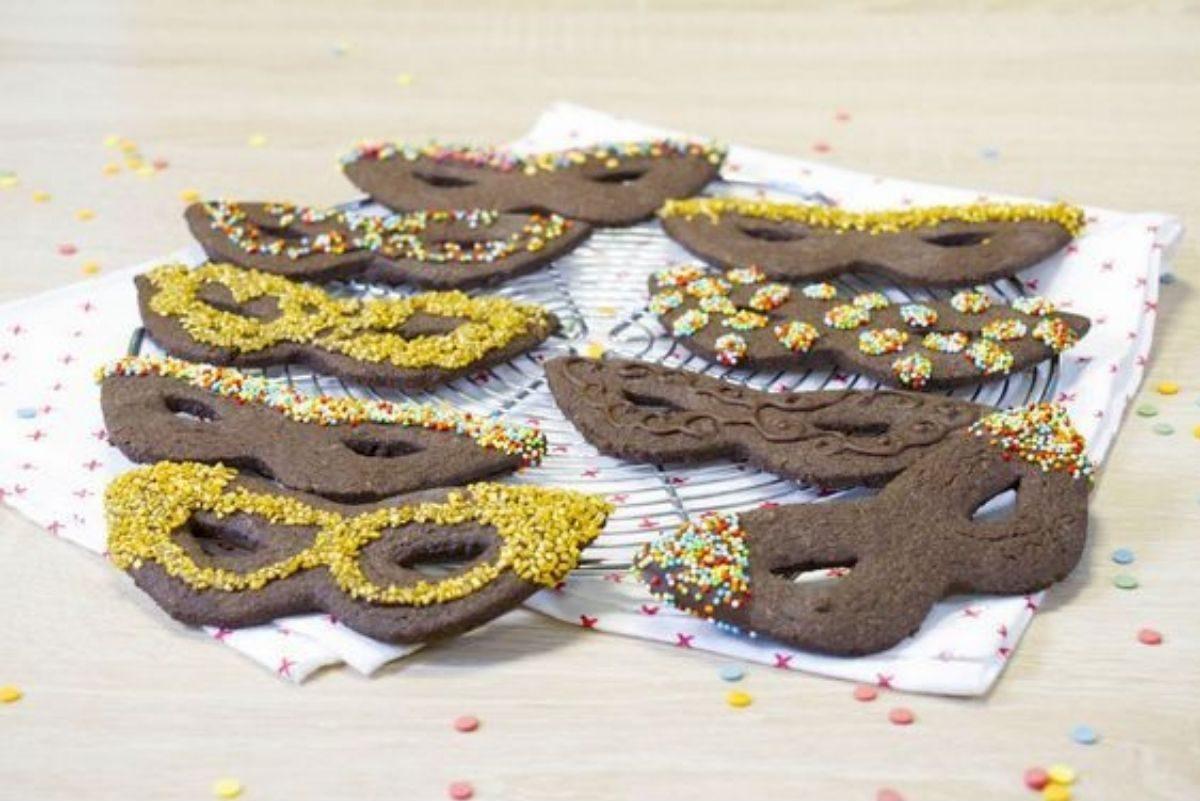 maschere dolci di carnevale
