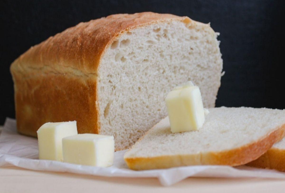 Pane in cassetta fatto in casa