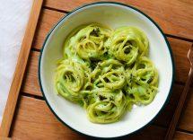 pasta zucchine e ricotta light