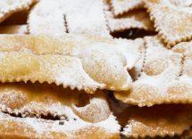 ricetta galani veneziani al forno