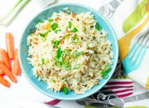 risotto light con salmone affumicato