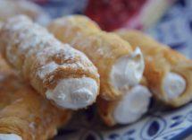sigarette dolci alla ricotta siciliane