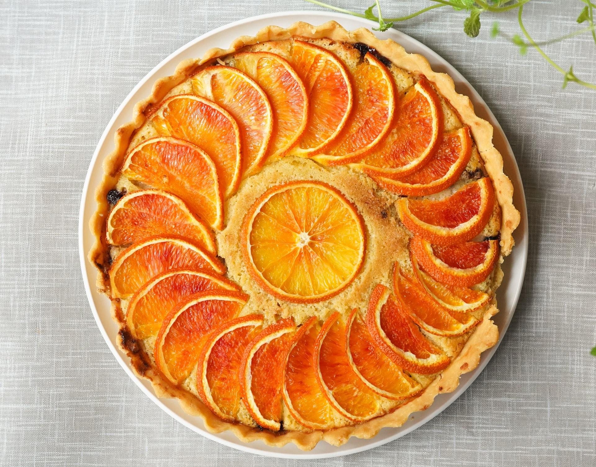 torta arancia e mascarpone bimby