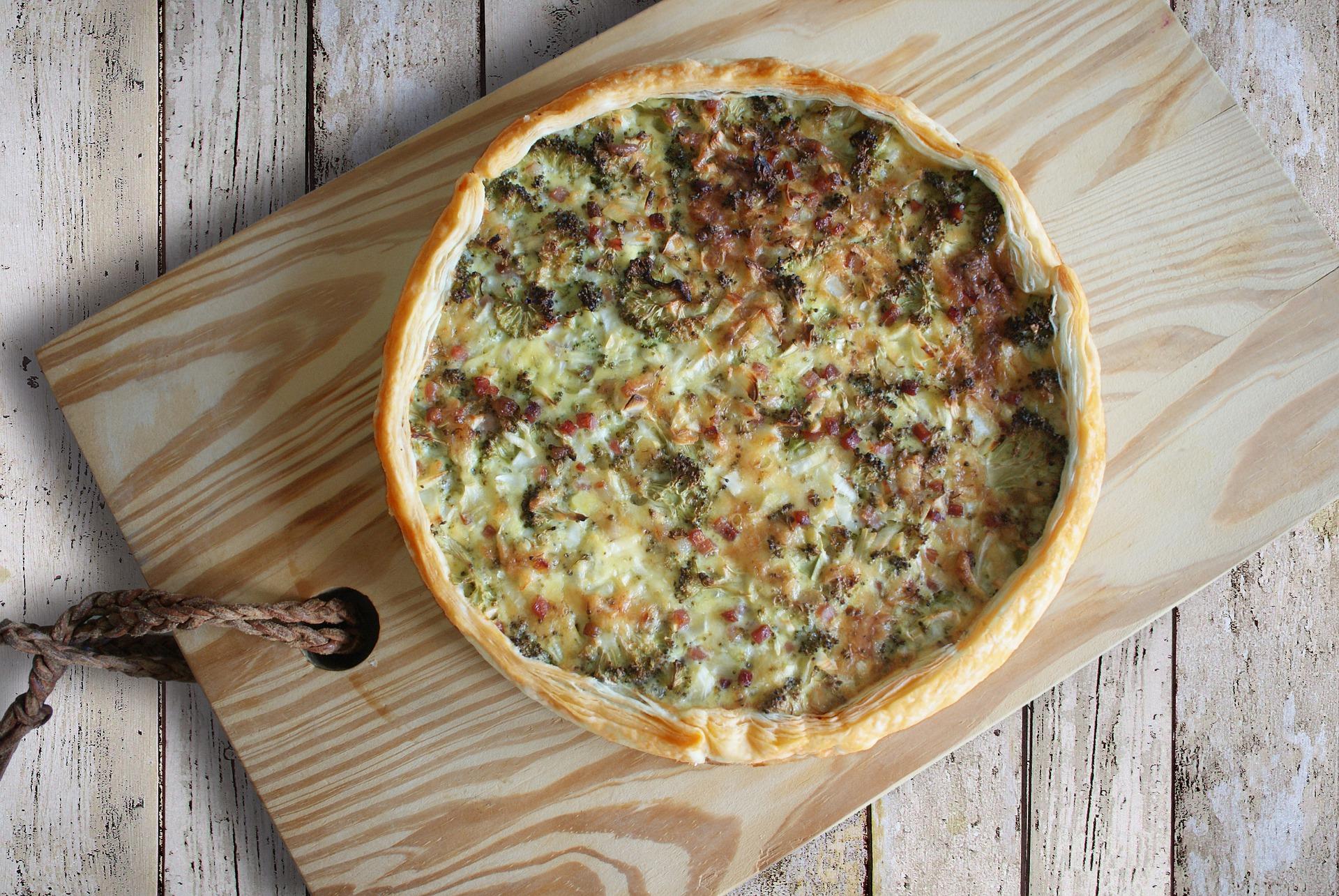 torta salata broccoli salsiccia e gorgonzola