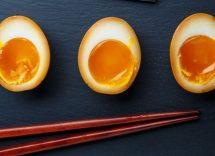 Uova marinate per ramen