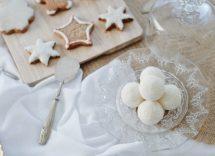biscotti di neve senza uova
