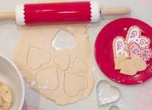 biscotti san valentino con pasta di zucchero