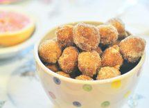 castagnole senza glutine al forno
