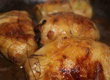 coda di rospo con pancetta in padella