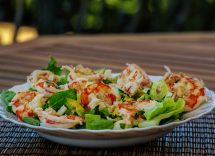 insalata di astice agli agrumi