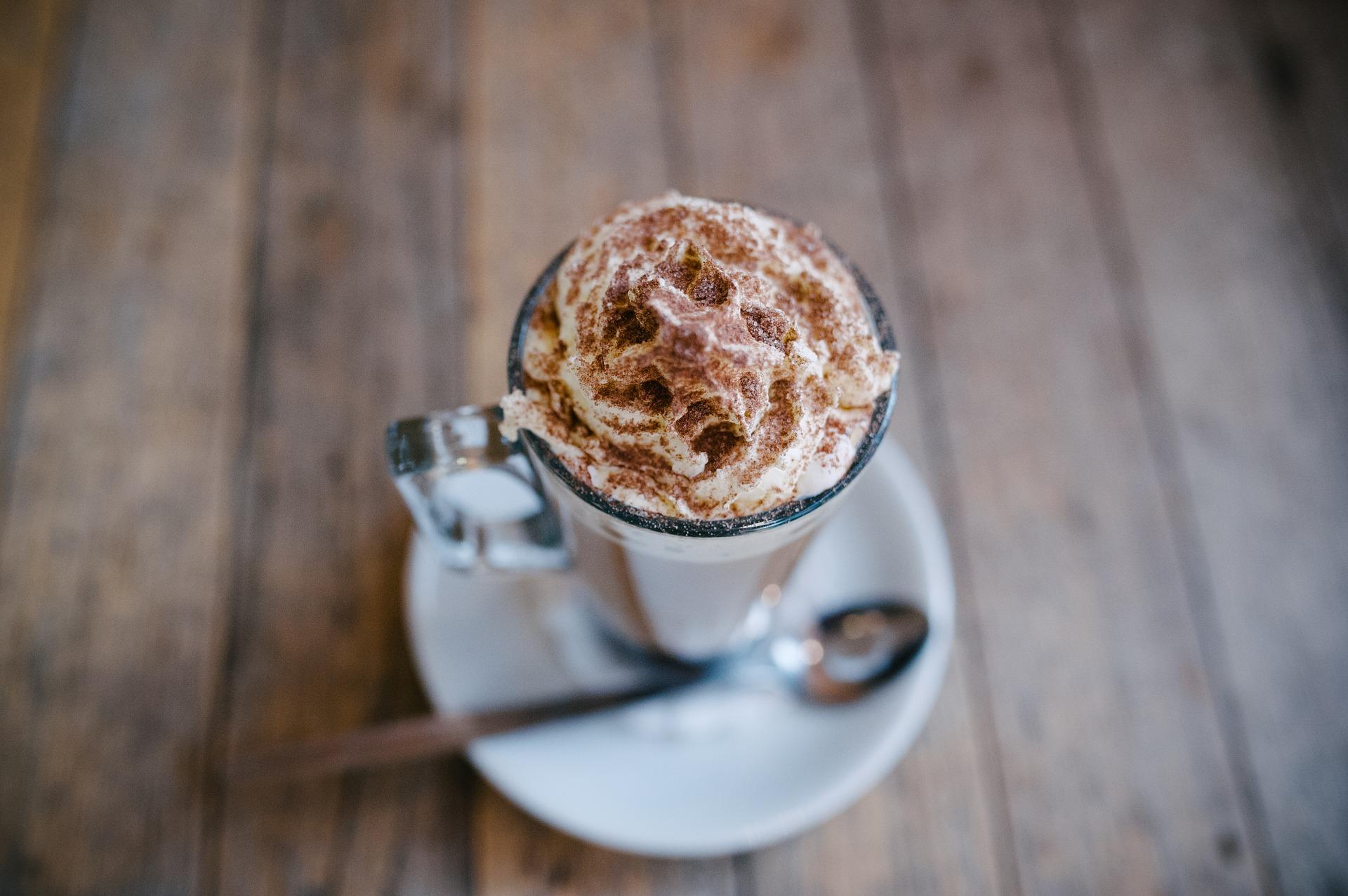 mousse baileys e caffè