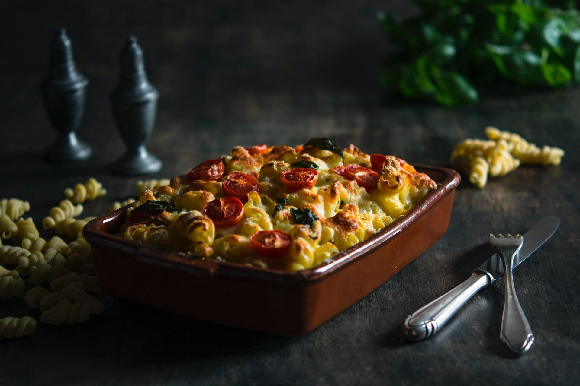 pasta ai 4 formaggi al forno ricetta