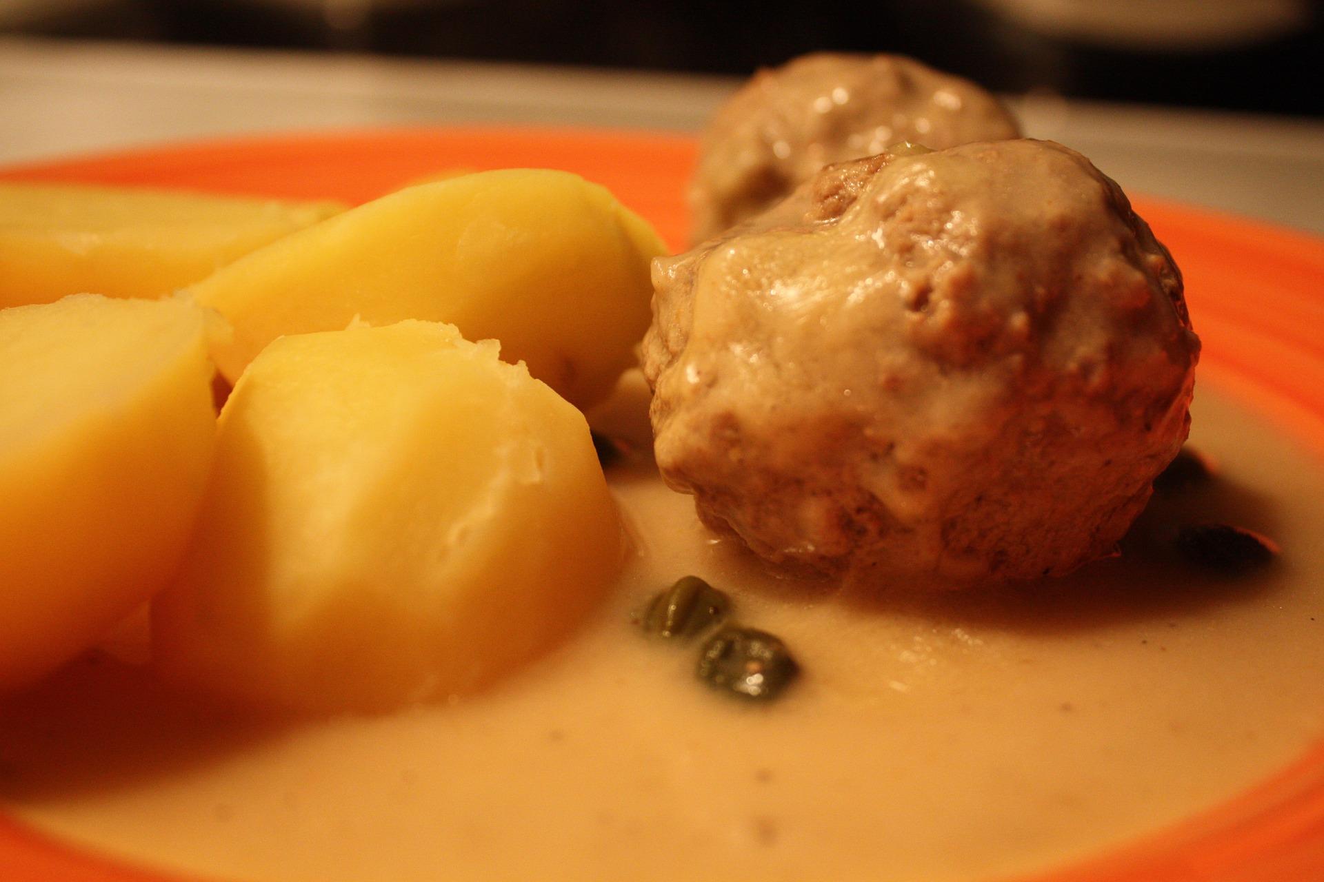 polpette di tacchino in umido con patate