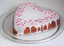 torta per san valentino cuore